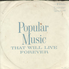 Popular Music That Will Live Forever - English Bollywood Vinyl LP