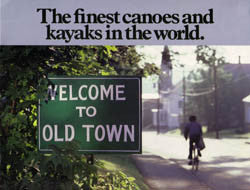 Old Town 1980 Brochure