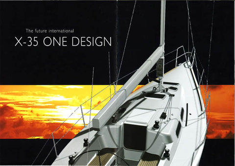 X 35 One Design Preliminary Brochure