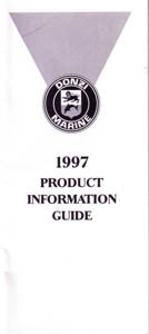 Donzi 1997 Dealer Fact Manual
