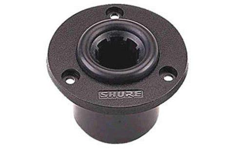 Shure A412B Accessory base for MicrofleX Gooseneck Microphones, 10' Attached XLR Cable