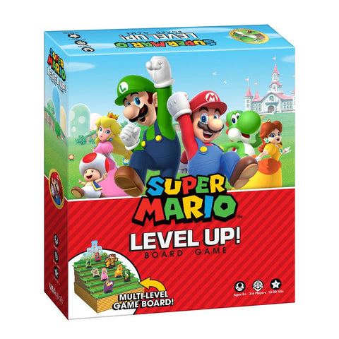 Super Mario Level Up Board Game