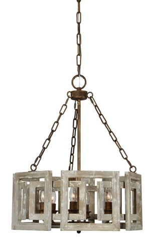 Tyler 6 Light Chandelier - Out of the Woodwork Designs