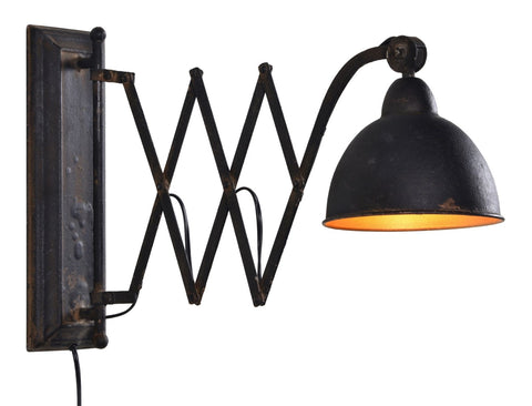 Wells Metal Sconce - Out of the Woodwork Designs