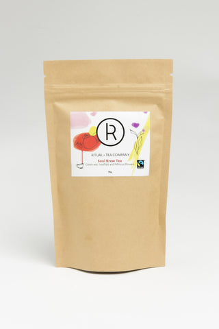Soul Brew - Green tea, rosehips and hibiscus flowers - 75g