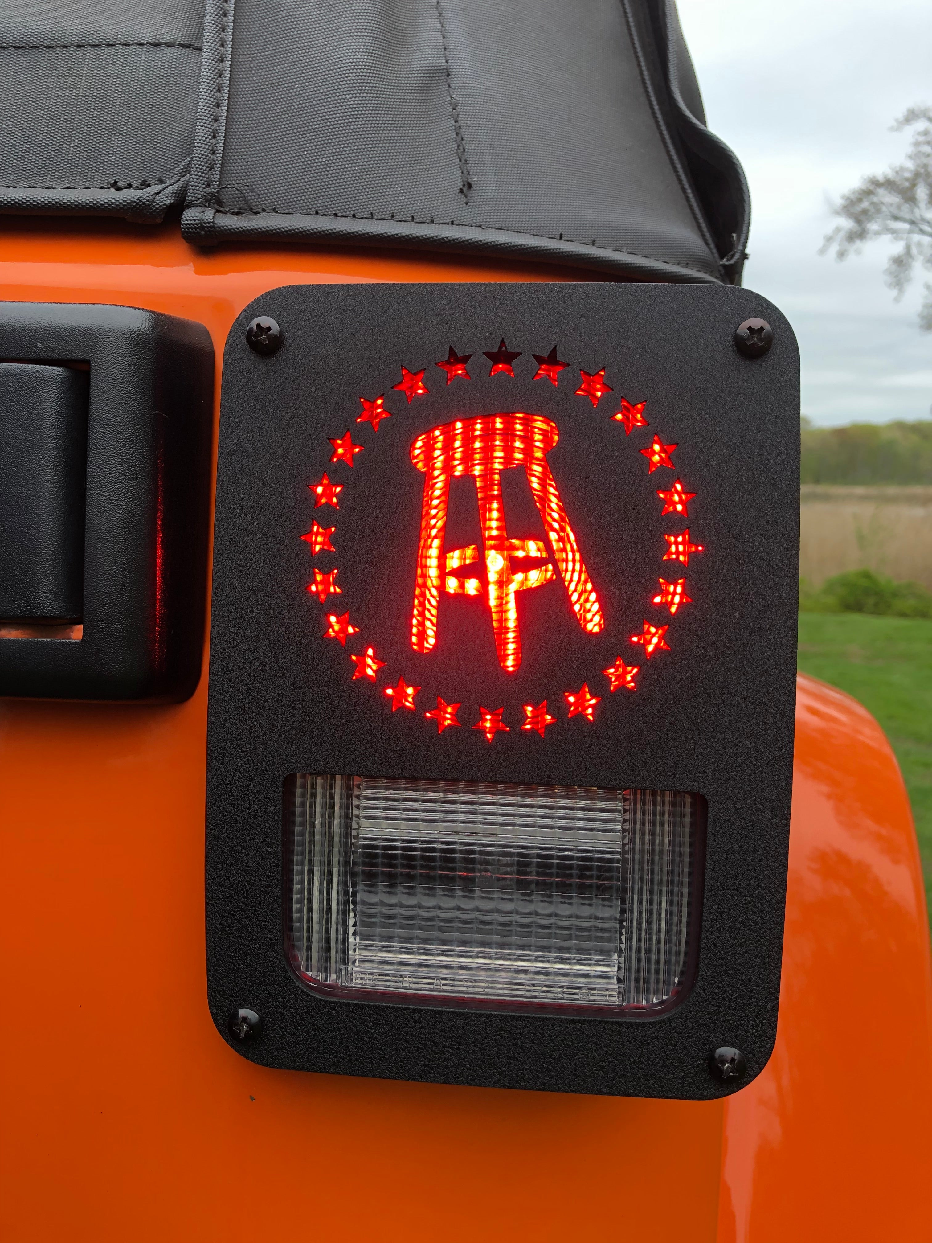 Barstool Jeep Tail Light Guards