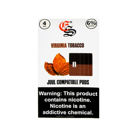 EonSmoke - Eonsmoke Virginia Tobacco 4 Pods - Drops of Vapor