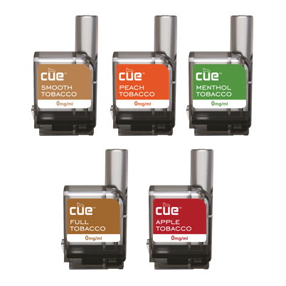 Cue - Cue 5 Tobacco Flavor Discovery Pack Cartridge Refills - Drops of Vapor