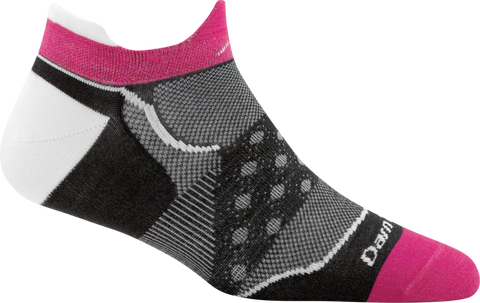 Darn Tough Dot No Show Tab Ultralight Sock - Women's Black Small