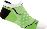 Darn Tough Dot No Show Tab Ultralight Sock - Women's Green Small