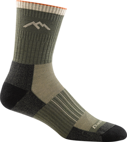 Darn Tough Hunter Micro Crew Cushion Socks - Men's Forest X-Large