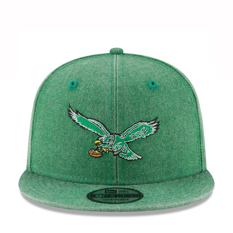 RUGGED HEATHER FIFTY EAGLES SNAPBACK - GREEN