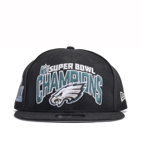 PHILADELPHIA EAGLES SUPER BOWL CHAMPIONS 9FIFTY SNAPBACK - BLACK