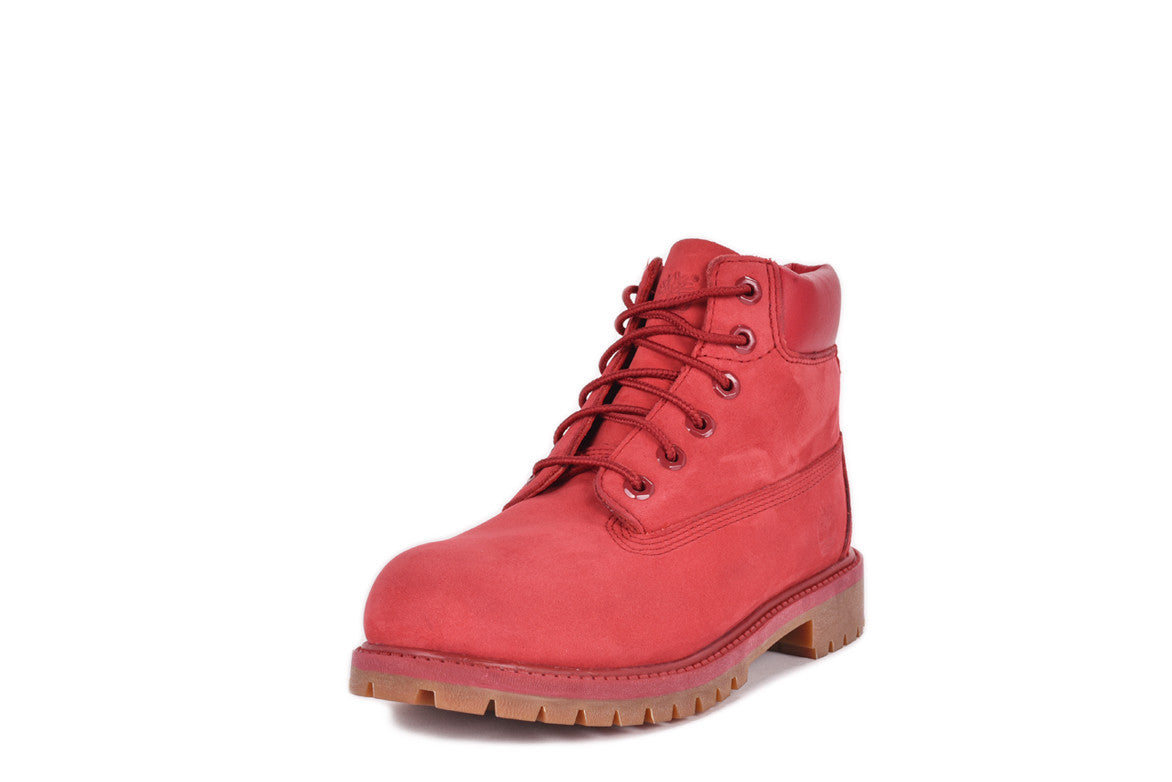 WATERPROOF 6 INCH PREMIUM BOOT (YOUTH) - RED