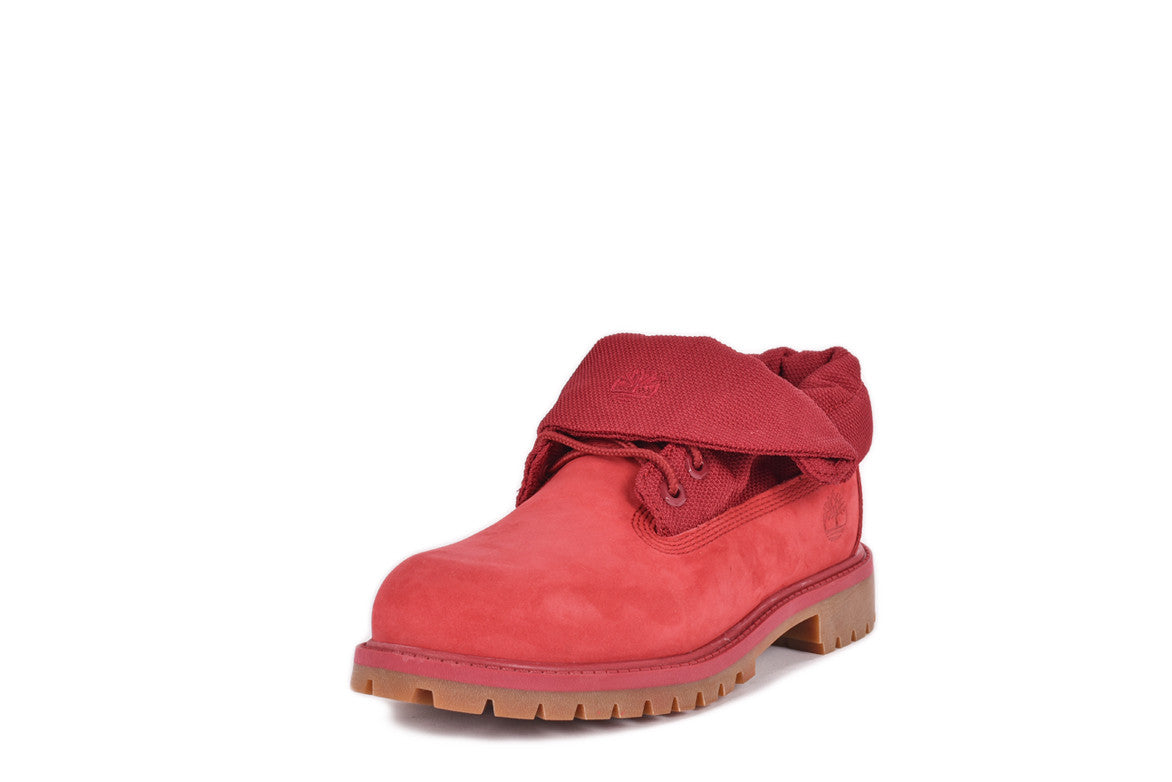 ROLL TOP BOOT (YOUTH) - RED