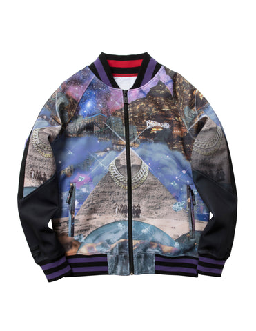 GIZA JACKET - BLACK / MULTI