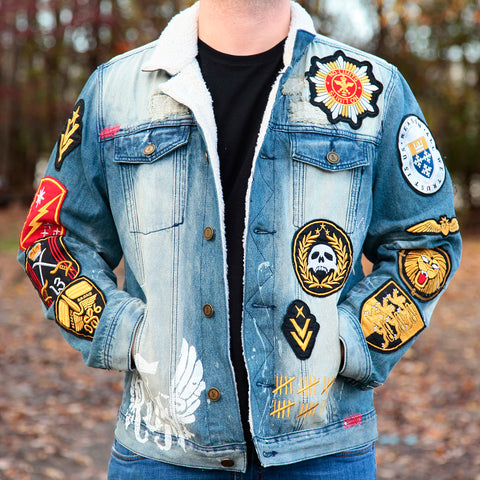 SCOUT TRUCKER JACKET - BLUE