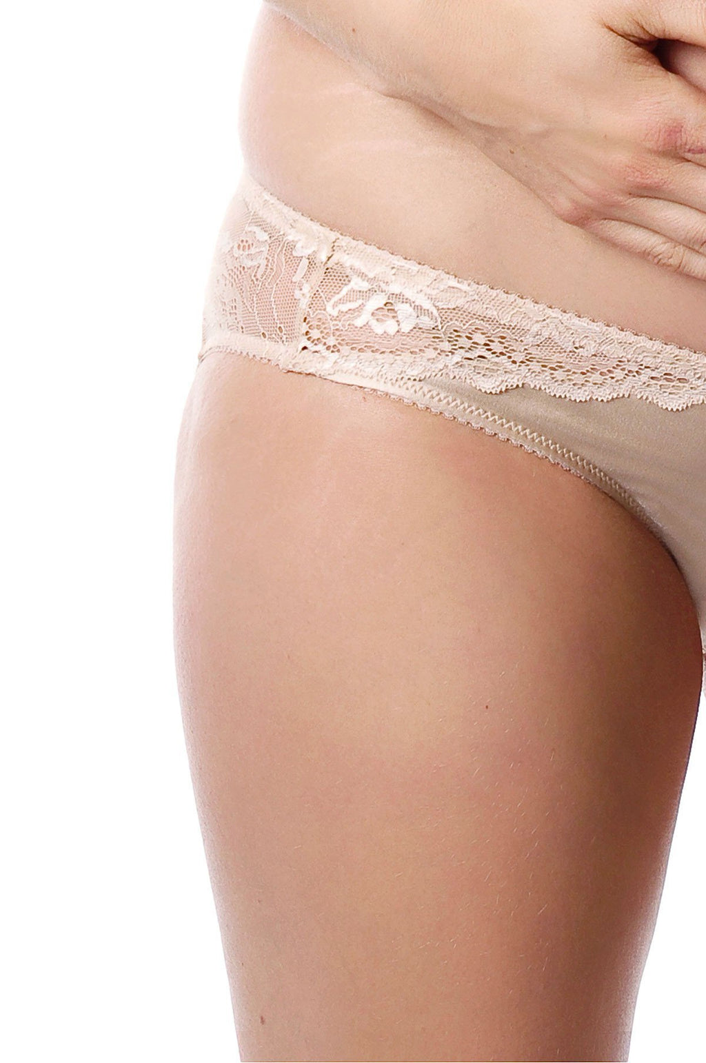 Hotmilk Lingerie Eclipse nude brief