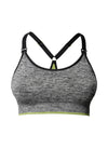 HOTMILK VITALITY GREY YOGA / SPORTS PREGNANCY AND NURSING BRA
