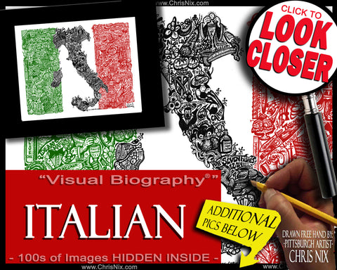 Everything Italian! - print