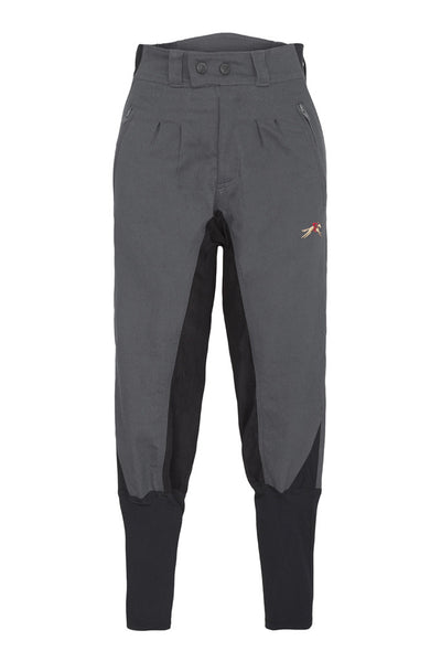 Paul Carberry PC Racewear - Duvall 150 Breeches in Grey Front