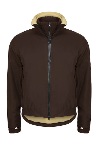 Paul Carberry - PC Racewear - PC Elite Jacket in Chocolate Brown
