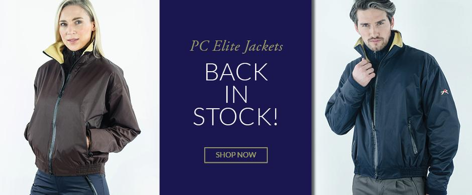Paul Carberry PC Racewear - Elite Jackets in Navy and Brown - Back in Stock!