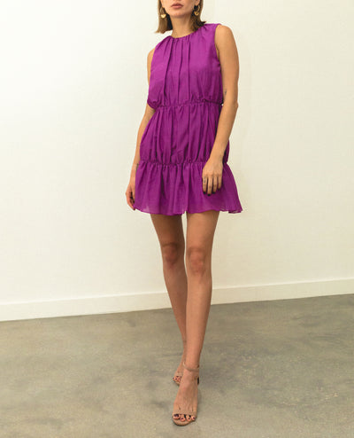 Malva Mini Dress Fucsia