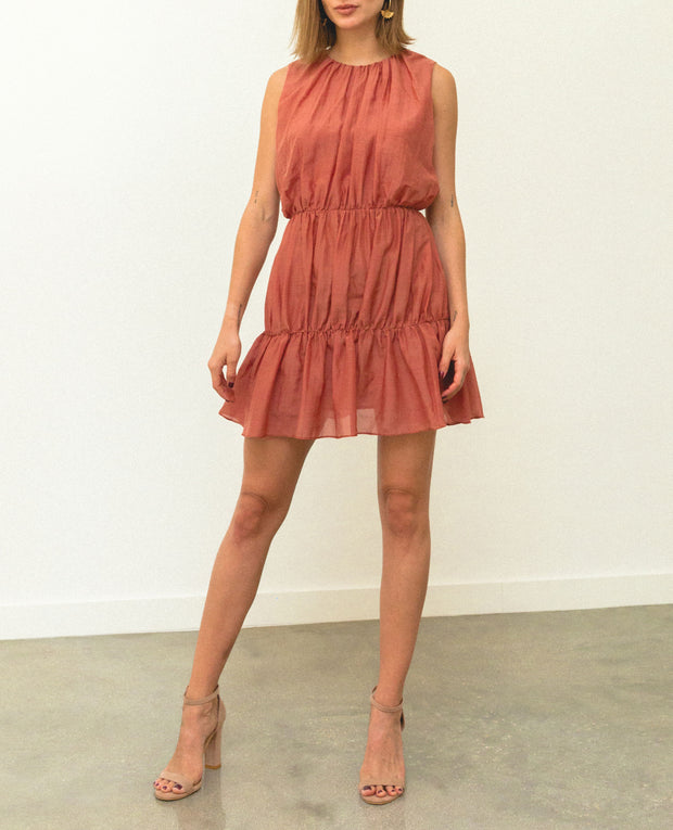 Malva Mini Dress Orange