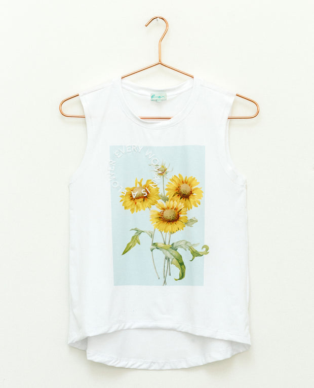 T-Shirt Sunflower