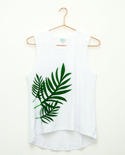 T-Shirt Green Palm