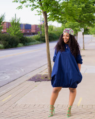 Hanna paperbag dress - HER Treasures Boutique