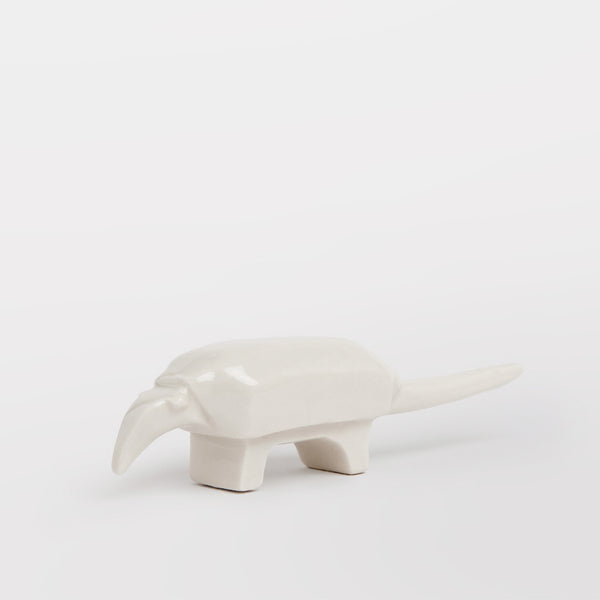 Handmade decorative armadillo by Caro Gates