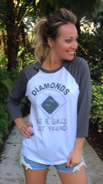 DIAMONDS - Grey/white