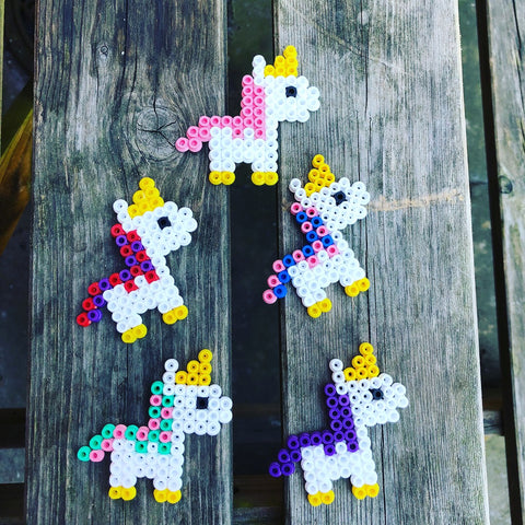 cosmic vegan unicorn magnet, sold by ethical fashion brand Viva La Vegan.