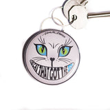 the cat that got the soy bottle opener keyring, sold by ethical fashion brand Viva La Vegan.