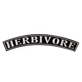 Rocker Patch: Herbivore patch, sold by ethical fashion brand Viva La Vegan.
