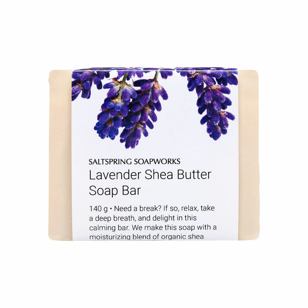 Lavender Shea Butter Soap Bar
