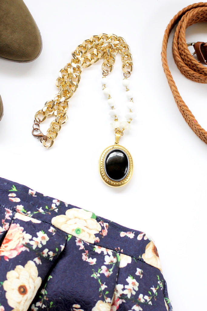 mourning black locket from 1880's named after nasty woman hillary clinton as we mourn the loss of her presidency