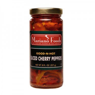 Good-n-Hot Cherry Peppers - 8 oz