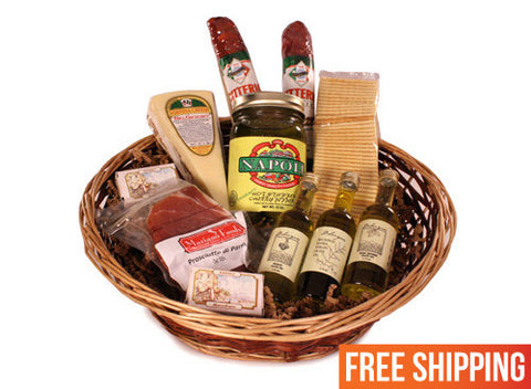 Mini Authentic Antipasto Basket