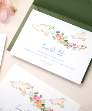 Chateau Save Date Card