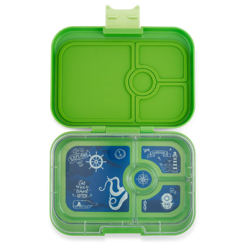 Yumbox Panino Bento Lunchbox (4 compartments) - Coriander Green. ARRIVING BY 16 JULY. PRE-ORDER NOW!