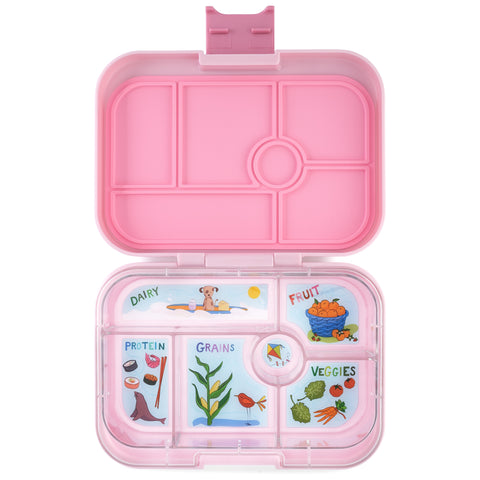 Yumbox Original Bento Lunchbox (6 compartments) – Hollywood Pink. MORE ARRIVING BY 16 JULY. PRE-ORDER NOW!
