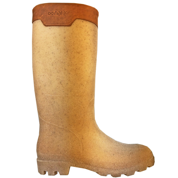 nat-2™ Rugged Prime Bully Corn brown (M) | 100% waterproof rainboots