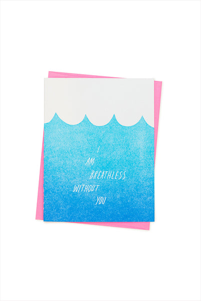 Breathless Card