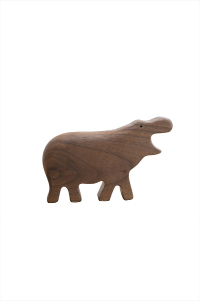 Wooden Hippo Rattle
