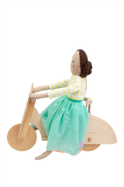 Wooden Dolly Scooter