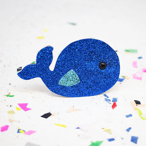 'Whale' Badge Making Kit