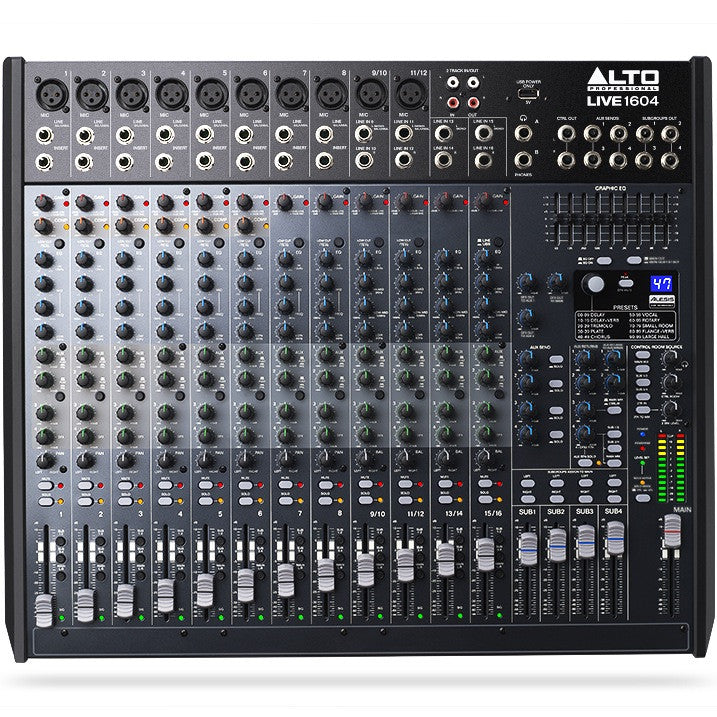 Alto LIVE 1604 Professional LIVE 16-Channel/4-Bus Mixer